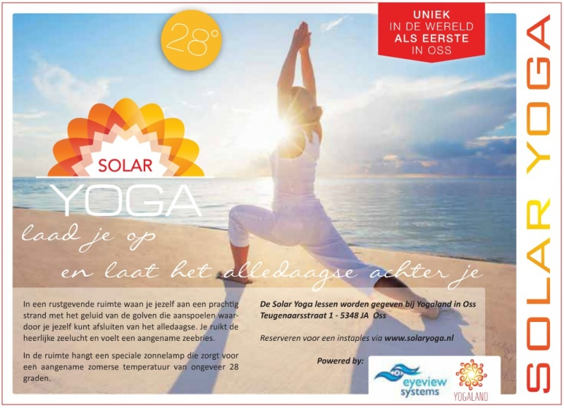 Advertentie SolarYoga