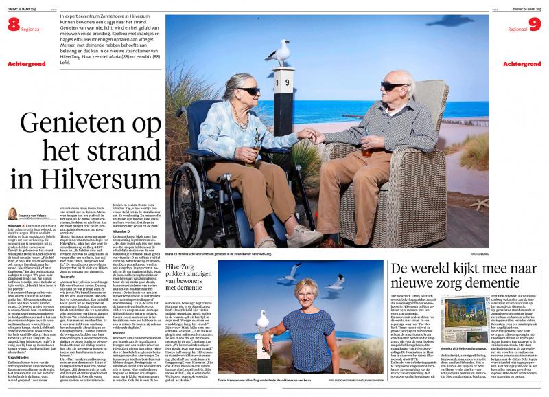 Artikel Strandkamer Gooi en Eemlander
